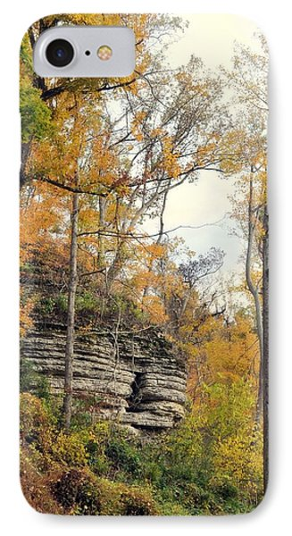 IPhone Case featuring the photograph Shawee Bluff In Fall by Marty Koch