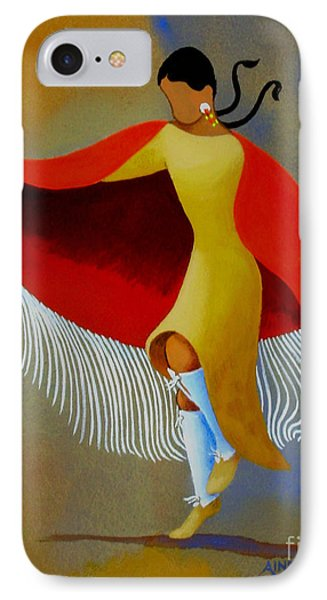 Shawl Dancer Phone Case by Ainsley McNeely