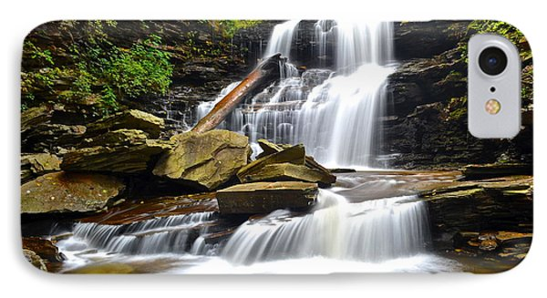 Shawnee Falls Phone Case by Frozen in Time Fine Art Photography