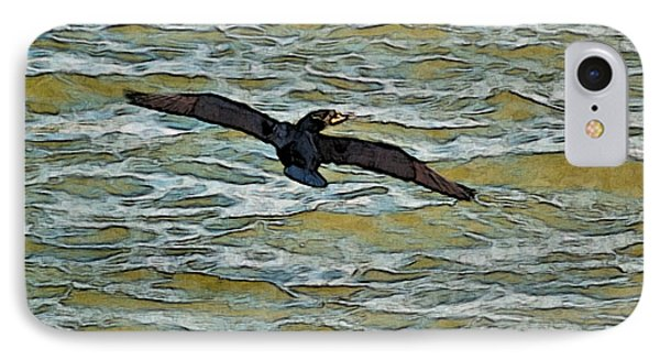 Shawnee Lake Wild Duck 3 IPhone Case by G L Sarti