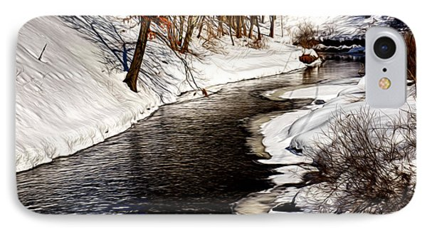 Shawsheen River IPhone Case by Tricia Marchlik