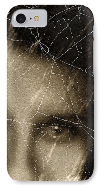 She Died Before Your Eyes IPhone Case by Georgiana Romanovna