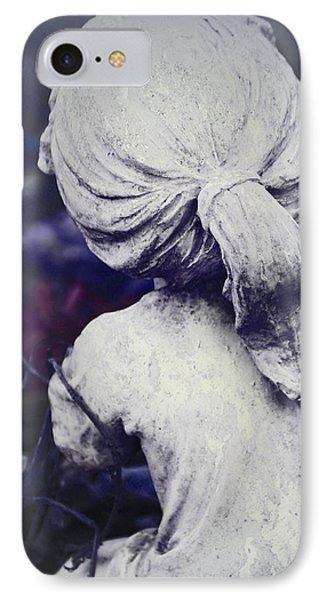 She Dreams Of Angels... Phone Case by The Art Of Marilyn Ridoutt-Greene