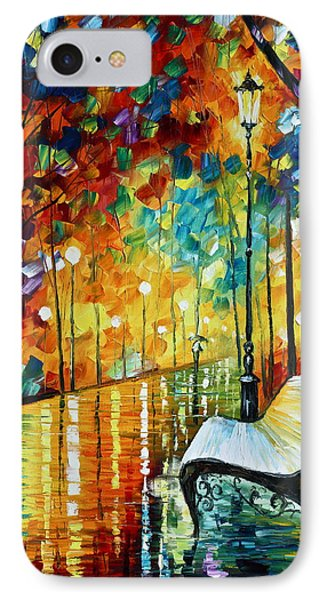 She Left.... New Version Phone Case by Leonid Afremov