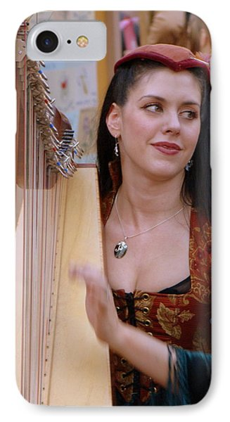 She Plays In Beauty IPhone Case