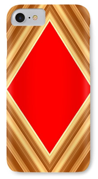 She Said Love Was Red  IPhone Case by Cletis Stump