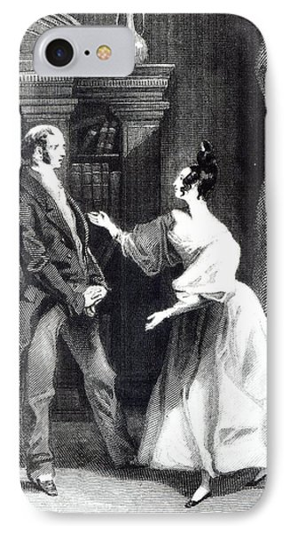 She Then Told Him What Mr Darcy Had Voluntarily Done For Lydia IPhone Case