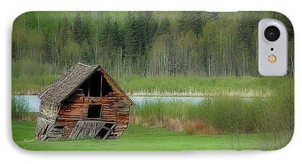 Shed By The Lake IPhone Case
