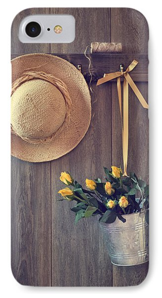 Shed Door IPhone Case by Amanda Elwell