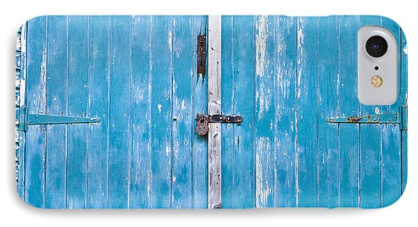 Shed Door IPhone Case by Tom Gowanlock