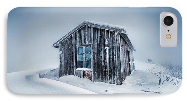 Shed In The Blizzard IPhone Case