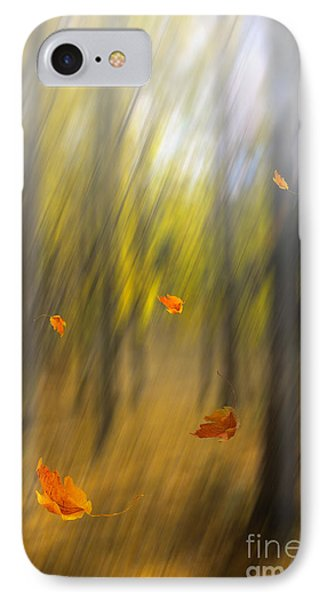 Shed Leaves IPhone Case by Veikko Suikkanen