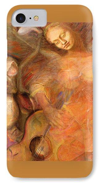Shedding A Little Light On The Situation - Original Art By Brooks IPhone Case by Brooks Garten Hauschild