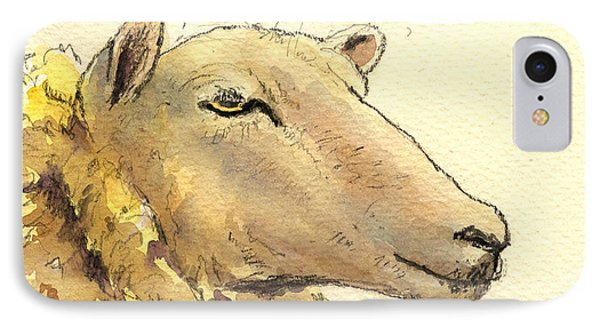 Sheep Head Study IPhone Case