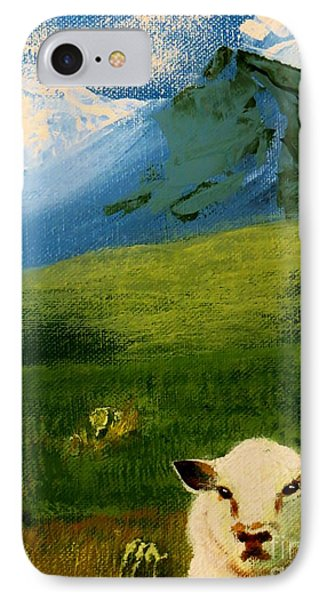 Sheep Looking In IPhone Case