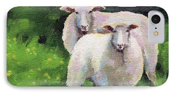 Sheeps IPhone Case by Natasha Denger