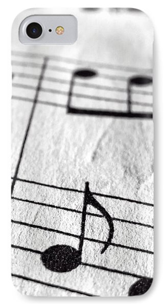 Sheet Music Phone Case IPhone Case by Edward Fielding