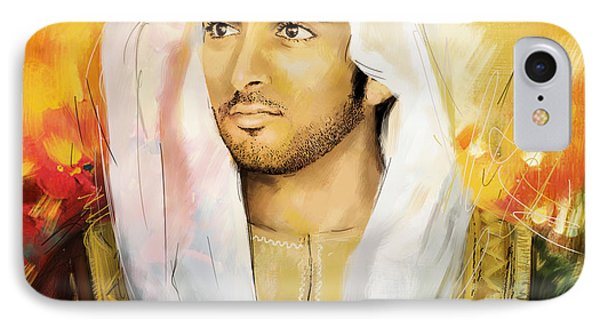 Sheikh Hamdan Bin Mohammed IPhone Case by Corporate Art Task Force
