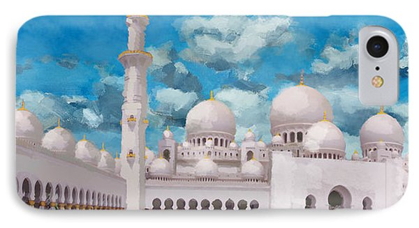 Sheikh Zayed Mosque IPhone Case