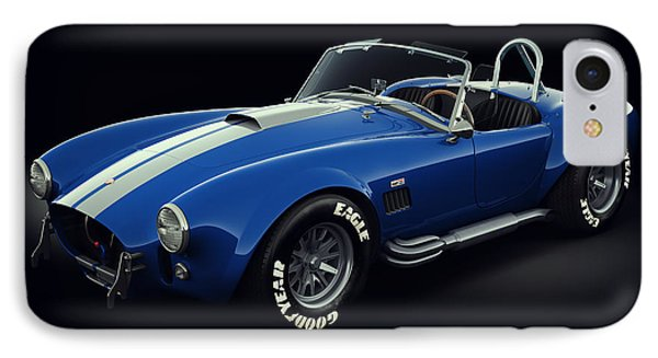 Shelby Cobra 427 - Bolt IPhone Case by Marc Orphanos