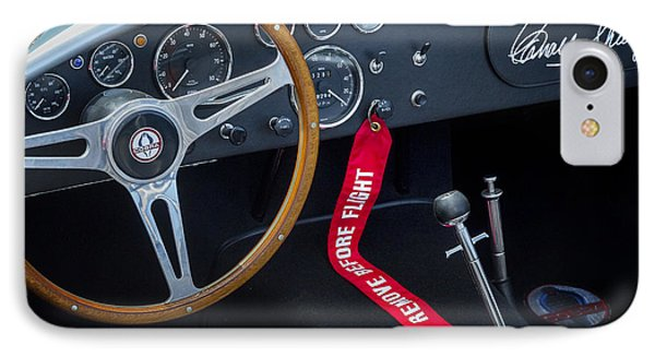 Shelby Cobra Phone Case by Bill Wakeley