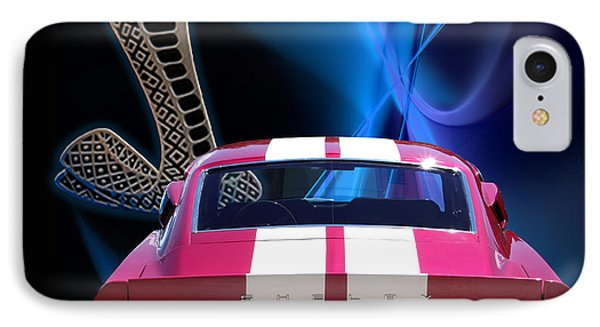 Shelby Cobra Gt-500 IPhone Case by Chris Thomas
