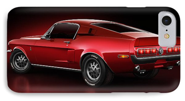 Shelby Gt500 - Redline IPhone Case