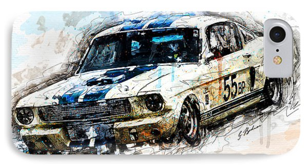 Shelby Speed IPhone Case by Gary Bodnar