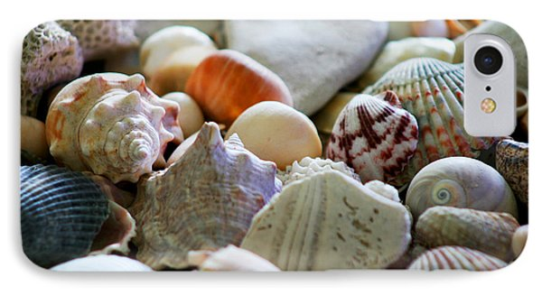 Shell Collection IPhone Case by Marty Gayler