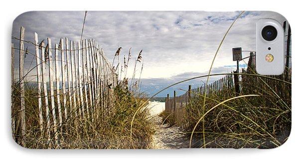 Shell Island Beach Access IPhone Case