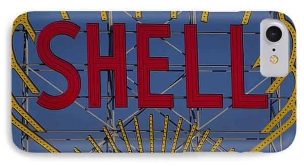 Shell Sign Cambridgeside IPhone Case