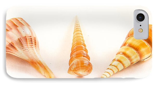Shell Trio Phone Case by Jean Noren