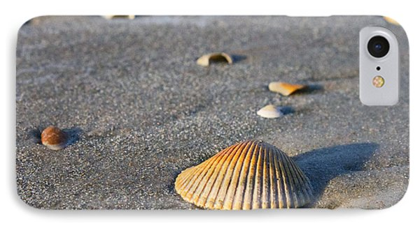 IPhone Case featuring the photograph Shells 01 by Melissa Sherbon