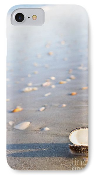 IPhone Case featuring the photograph Shells 02 by Melissa Sherbon