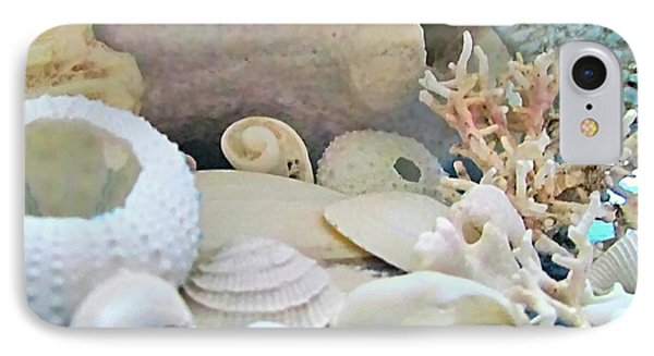 Shells In Pastels Phone Case by Danielle  Parent