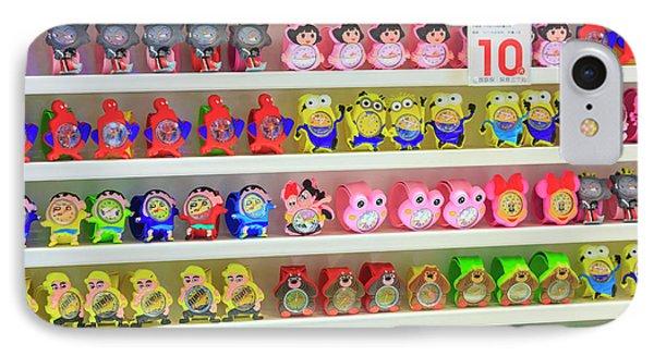 Shelves Of Children Toys, Shops IPhone Case by Stuart Westmorland
