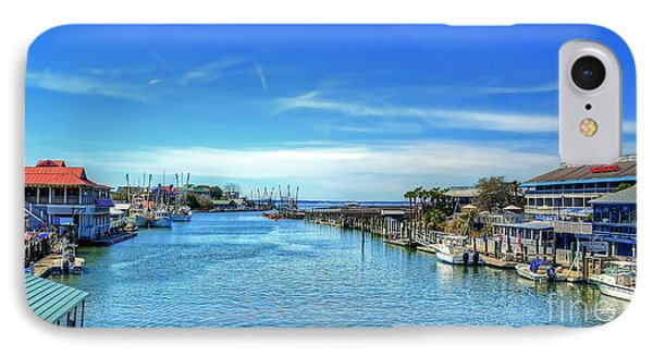 IPhone Case featuring the photograph Shem Creek by Kathy Baccari