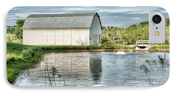 Shenandoah Barn Reflection Phone Case by Lara Ellis