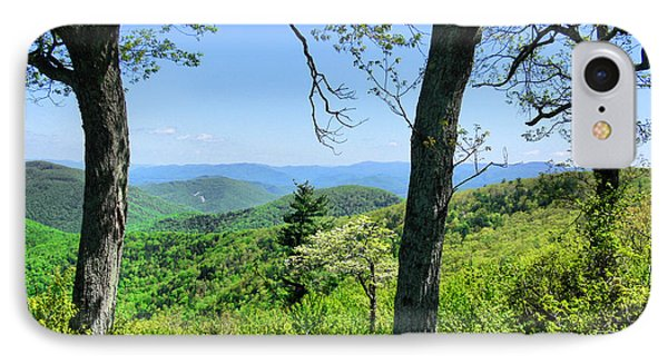 Shenandoah Mountain Ridge IPhone Case