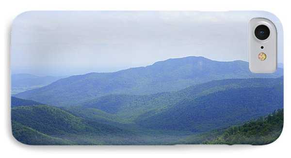 Shenandoah View IPhone Case by Laurie Perry