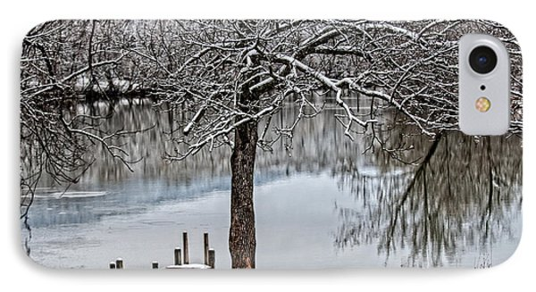 Shenandoah Winter Serenity IPhone Case