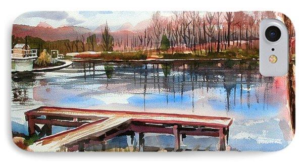 Shepherd Mountain Lake In Winter IPhone Case