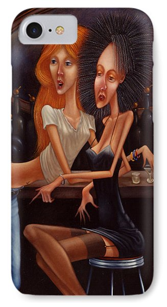 Sherry Chambord And Cognac -  Girls Night Out 1998 Phone Case by Larry Preston