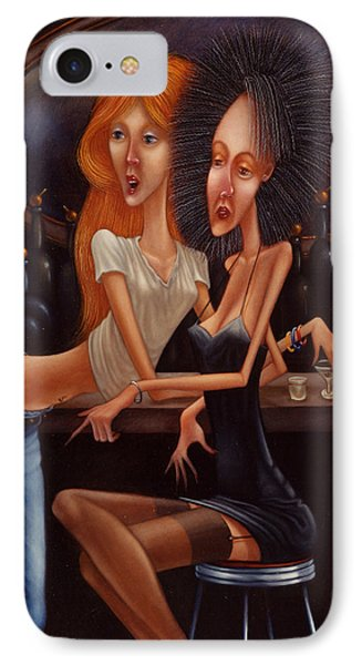 Sherry Chambord And Cognac -  Girls Night Out 1998 IPhone Case by Larry Preston