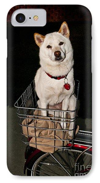 Shiba Inu Dog IPhone Case by William H. Mullins