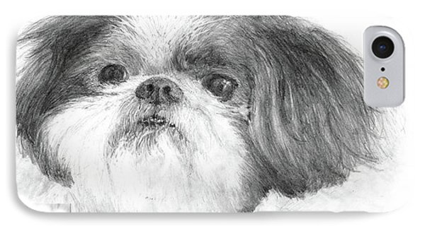 Shih-tzu Phone Case by Jim Hubbard