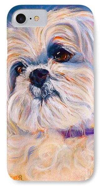 Shih Tzu Rescue IPhone Case