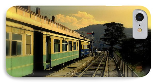 Shimla Railway Station IPhone Case by Salman Ravish