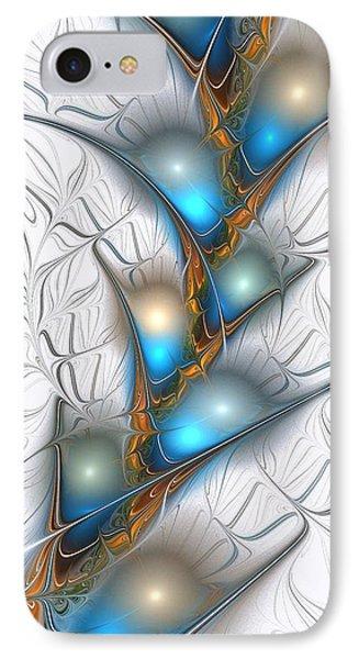 Shimmering Lights Phone Case by Anastasiya Malakhova