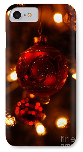 IPhone Case featuring the photograph Shimmering Reflection by Linda Shafer